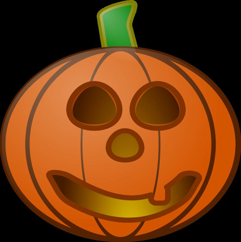 Halloween cartoon pumpkins for Halloween pumpkin clipart