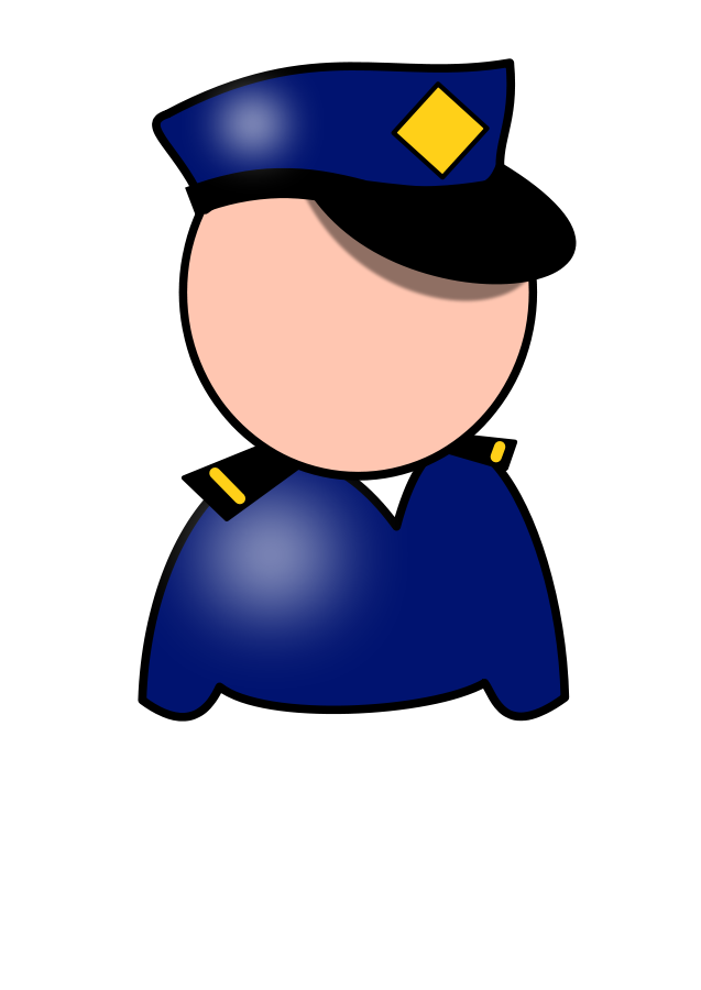 Policeman SVG Vector file, vector clip art svg file