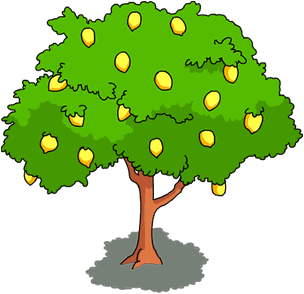Lemon Tree Clipart on Lemon Border Clip Art