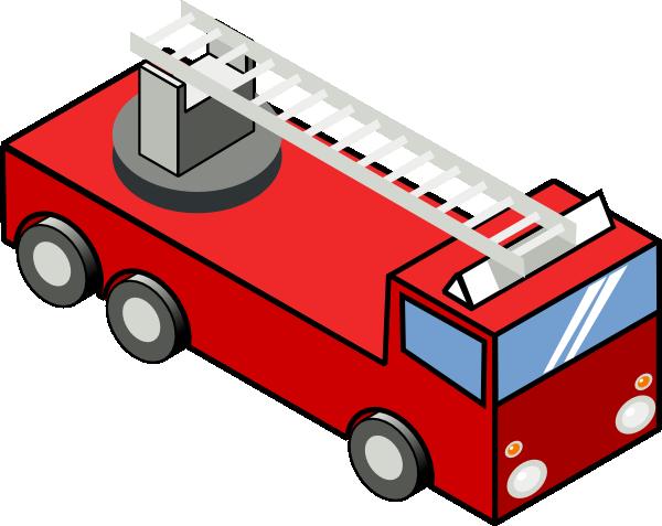Secretlondon Iso Fire Engine clip art - vector clip art online ...