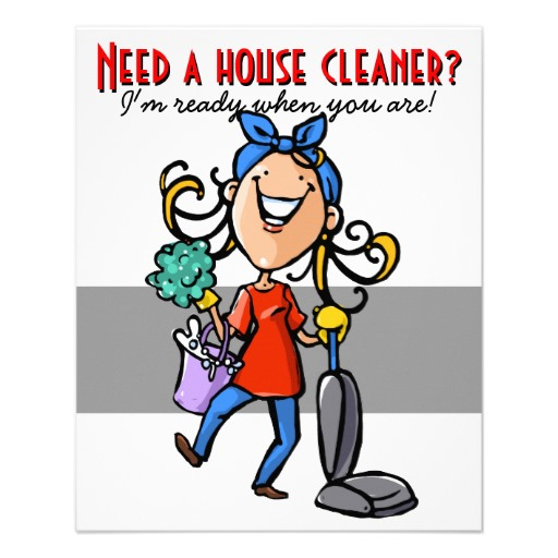 Free Printable House Cleaning Flyers - NextInvitation Templates