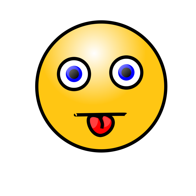 Clipart - Emoticons: Tongue Out