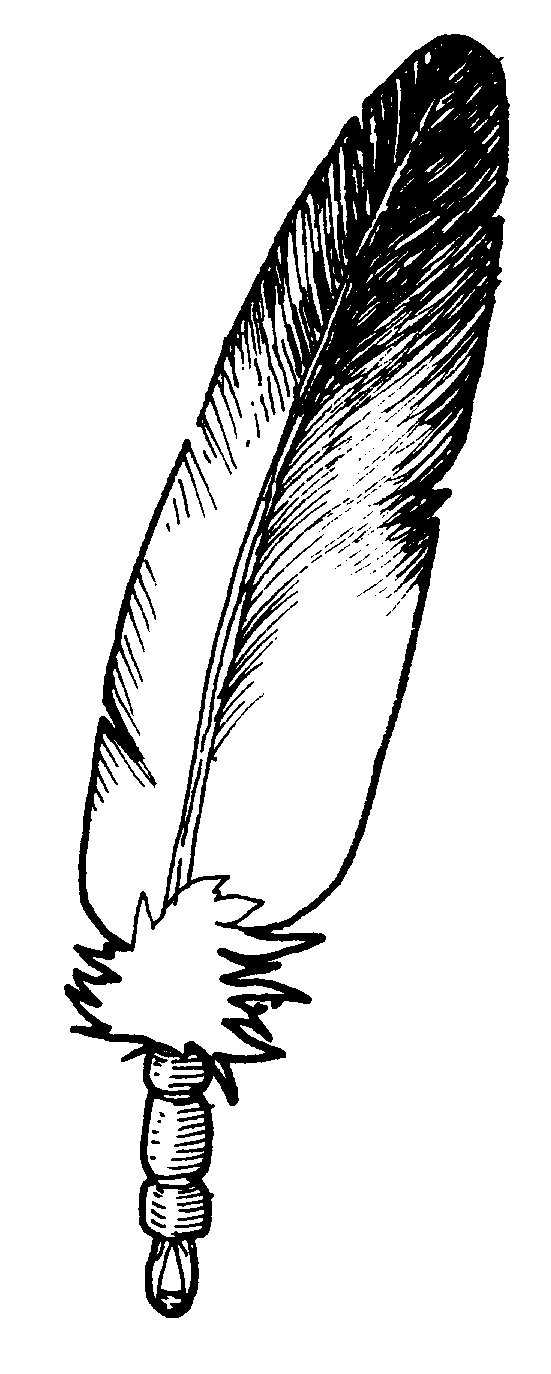 Eagle Feather Drawing Eagle Feather