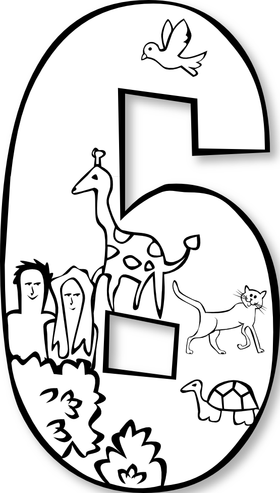 Creation Coloring Pages For Sunday School Best Images On Day 5 Weasel Clipart