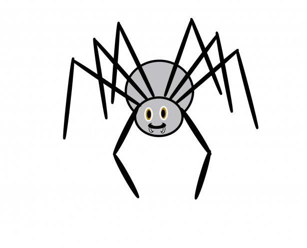 Spider Clip Art With Transparent Background | Clipart Panda - Free ...