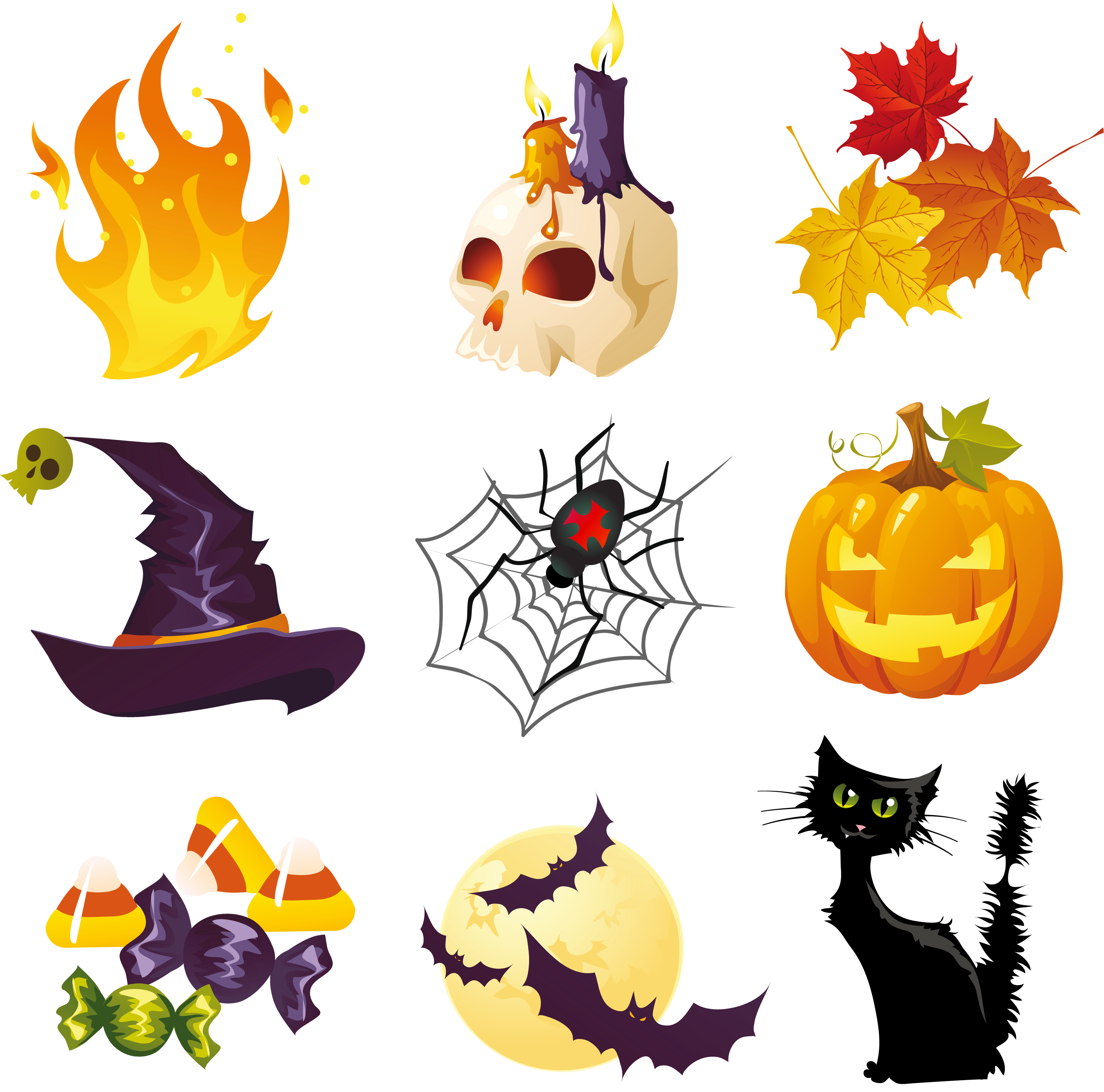 Halloween Pictures Collection Clipart - Cliparts.co