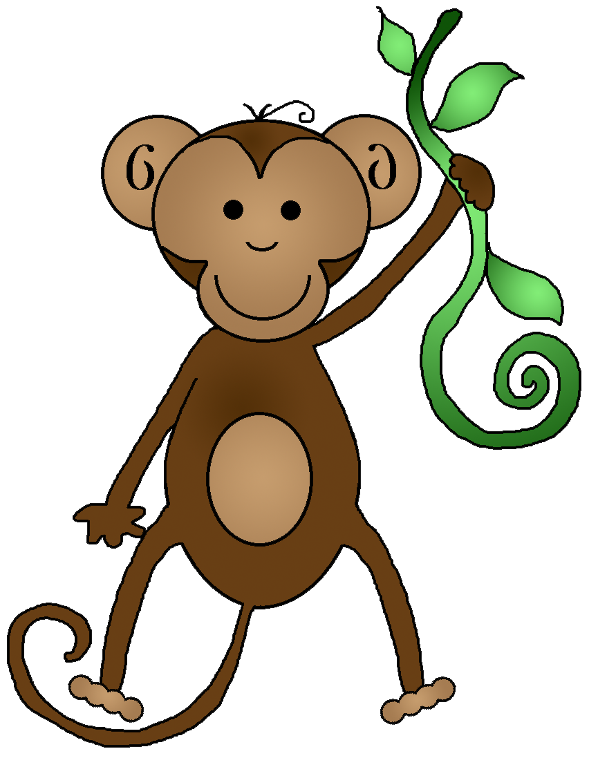 Cute Monkey Clipart - Cliparts.co