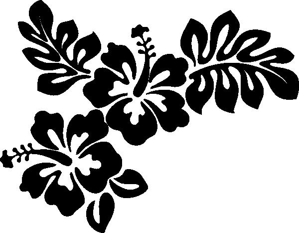 Hibiscus Outline  Clipartsco