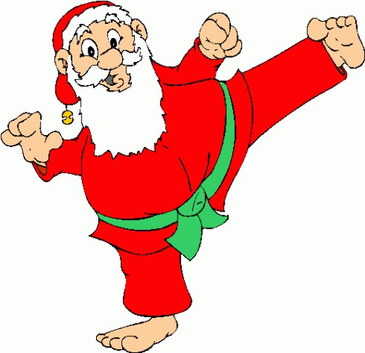 Funny Santa Clipart - Cliparts.co