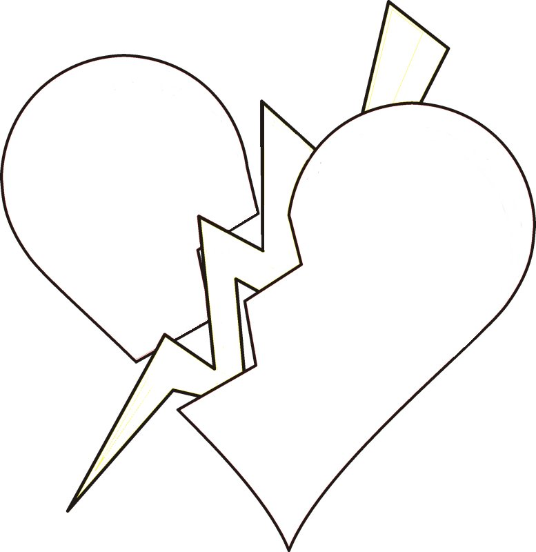Hearts With Wings Coloring Pages Cliparts Co Coloring Pages Of Hearts With Wings