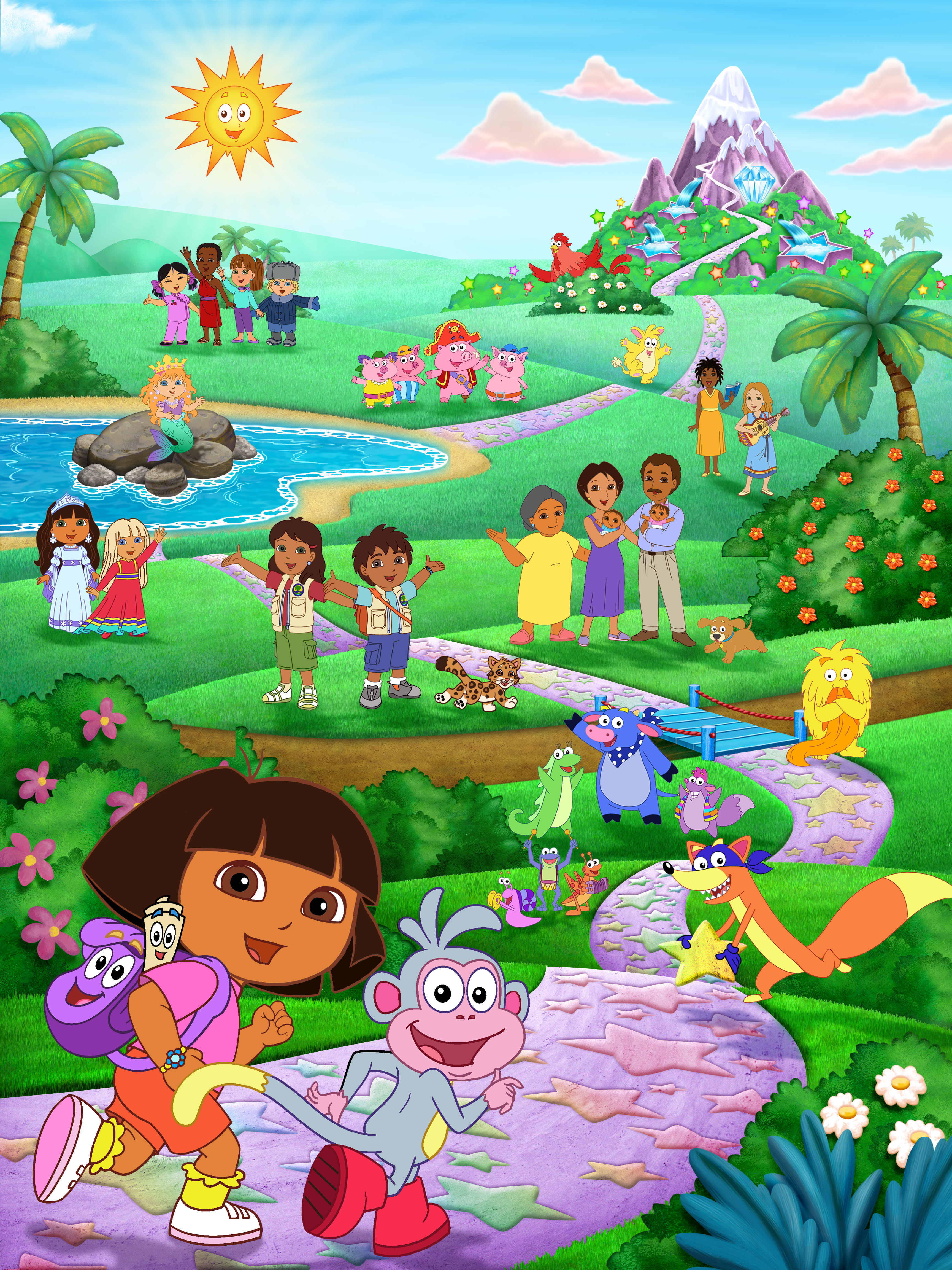 Dora Explorer Cliparts Co