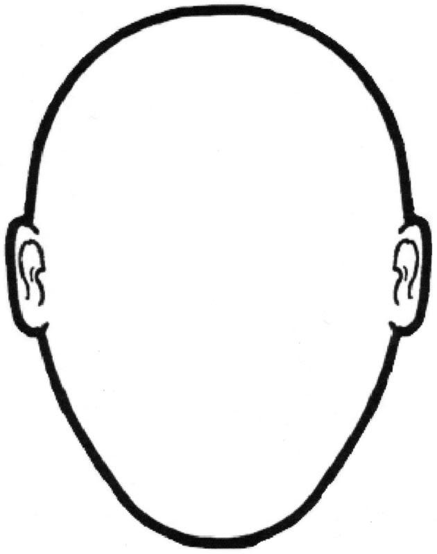 Blank Face Template - Invitation Templates - Cliparts.co