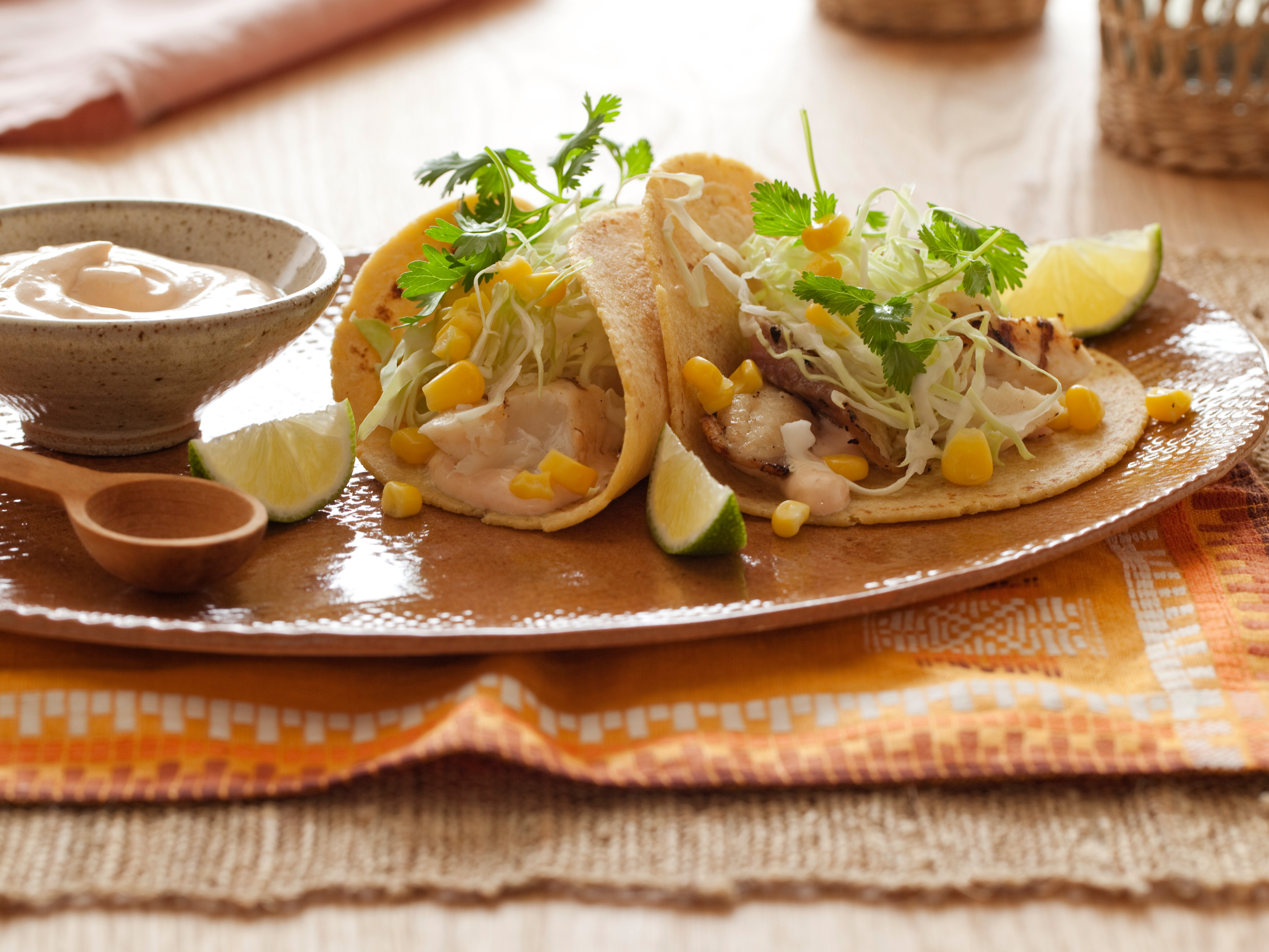 Tacos in carton for Fish tacos food network
