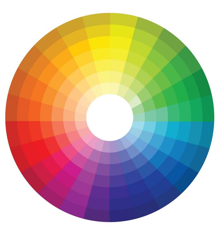 Color wheel clip art for Paint color spectrum