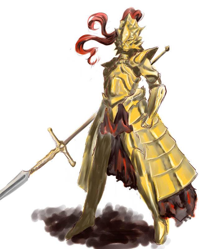 Dark Souls Ornstein Armor