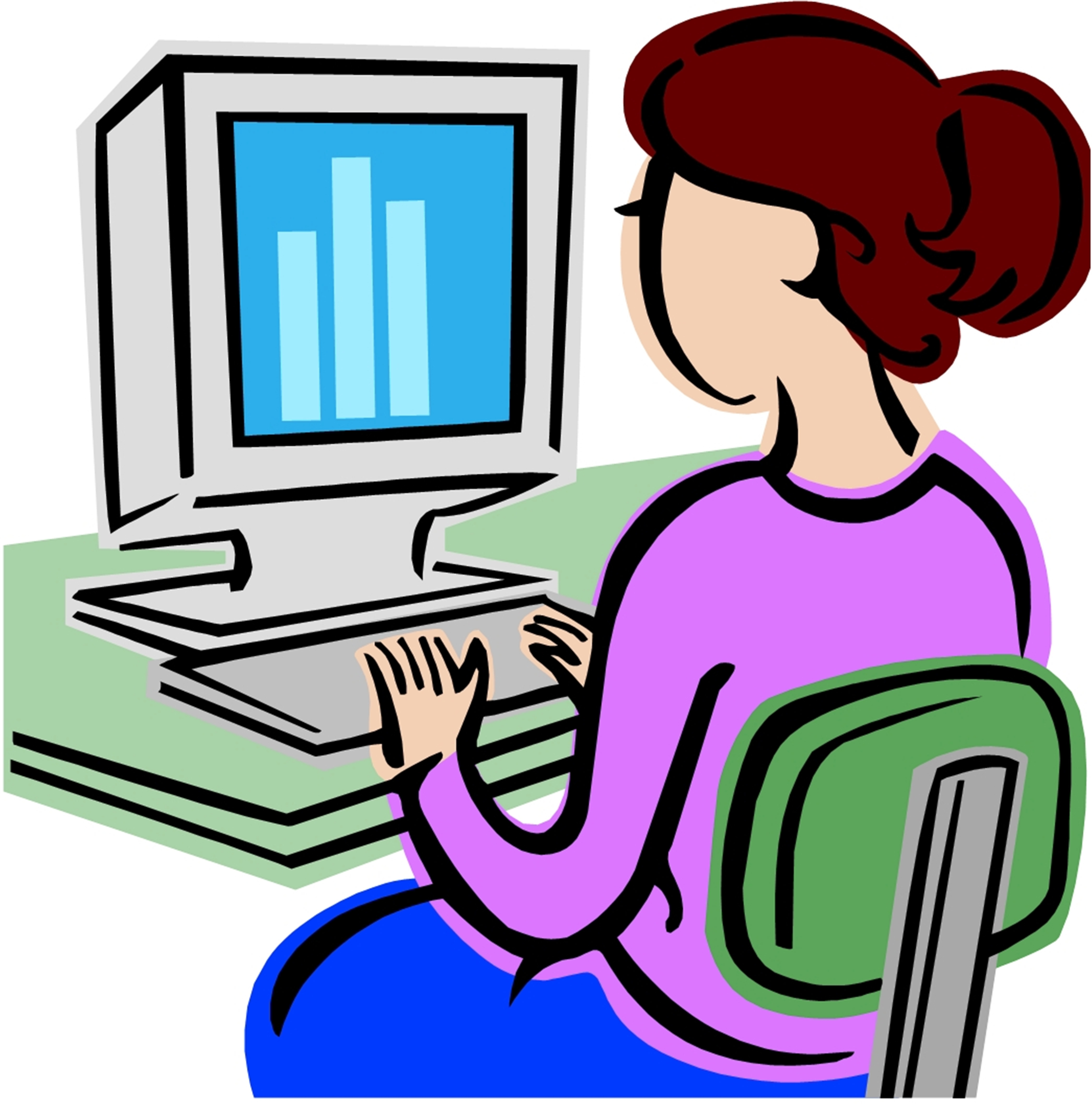 computer education clipart - photo #4