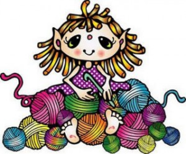 free crochet clipart rh worldartsme com Crochet Hook Knit and Crochet Clip Art