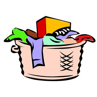 Laundry Basket Clipart - Cliparts.co