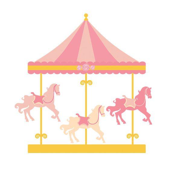 ... clipart - merry go round clip art, carnival clip art, fair