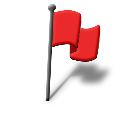 Red Flag Icon - ClipArt Best