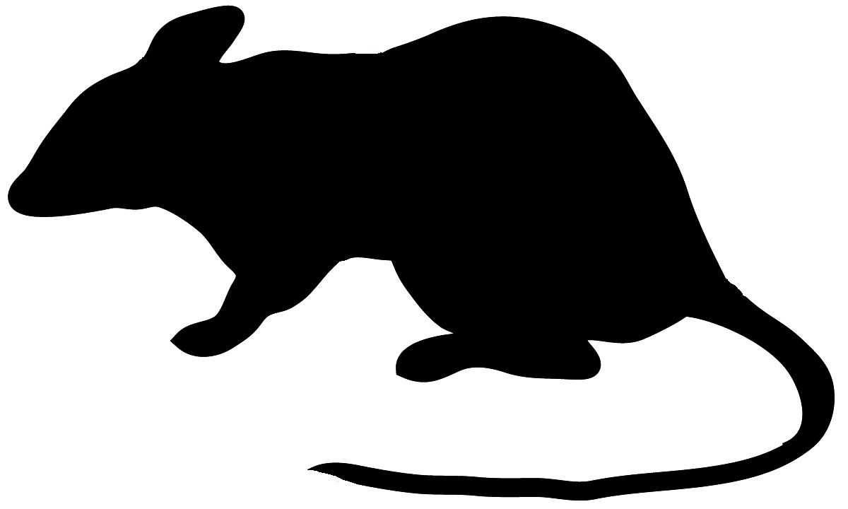 halloween mouse silhouette - marcpous