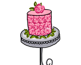 Free Clipart Cake Stand : Sweet 16 Clipart - Cliparts.co