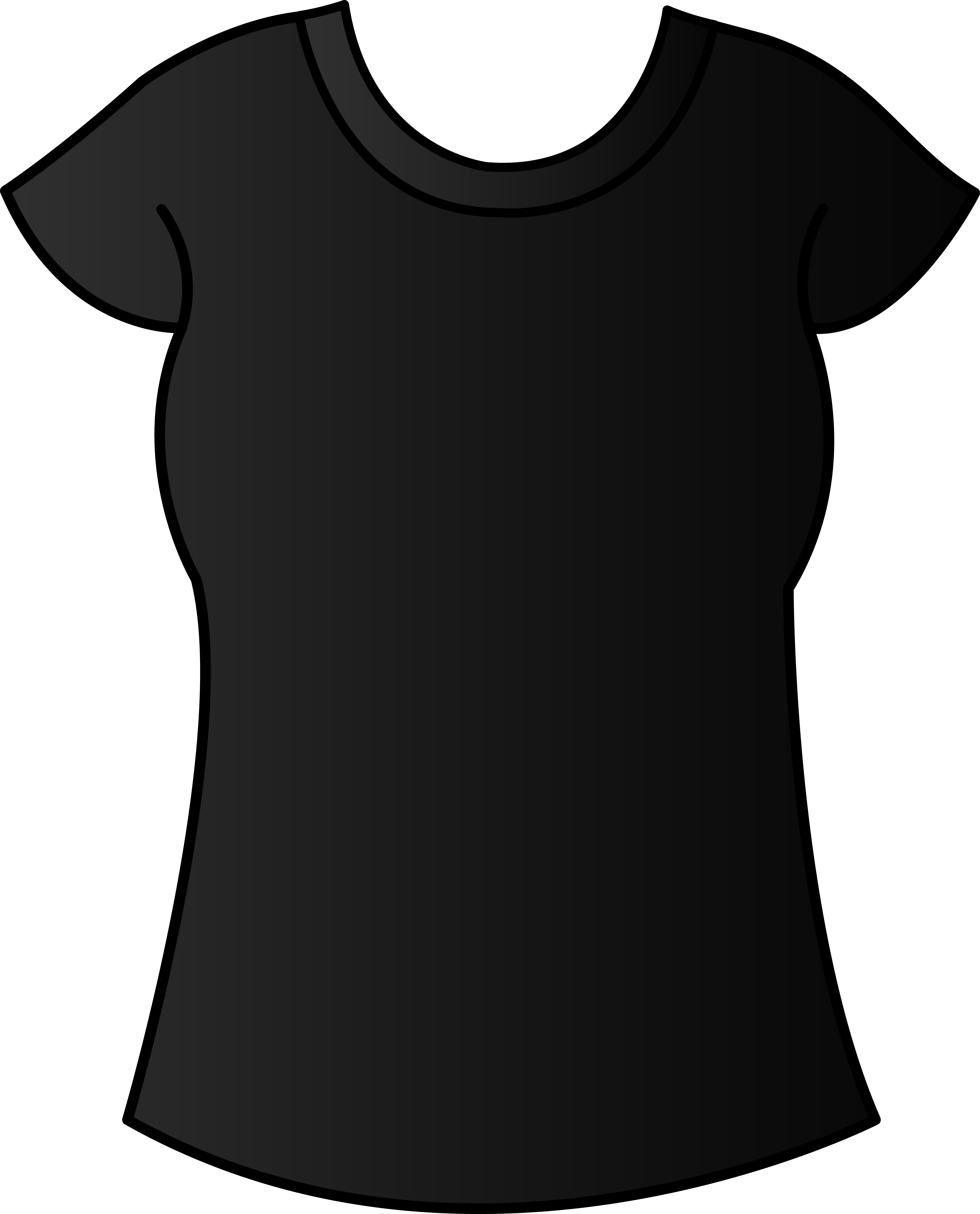 black t shirt vector - photo #29