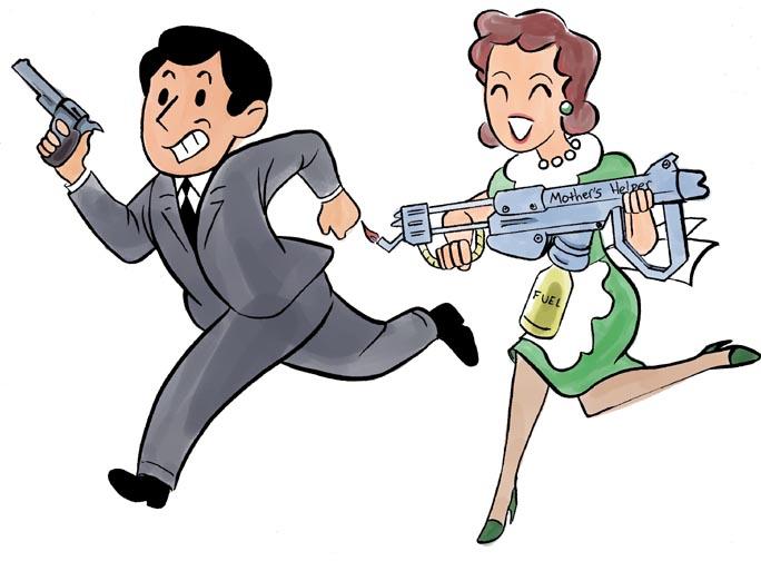 Cartoon Characters 50s : Parents clip art cliparts