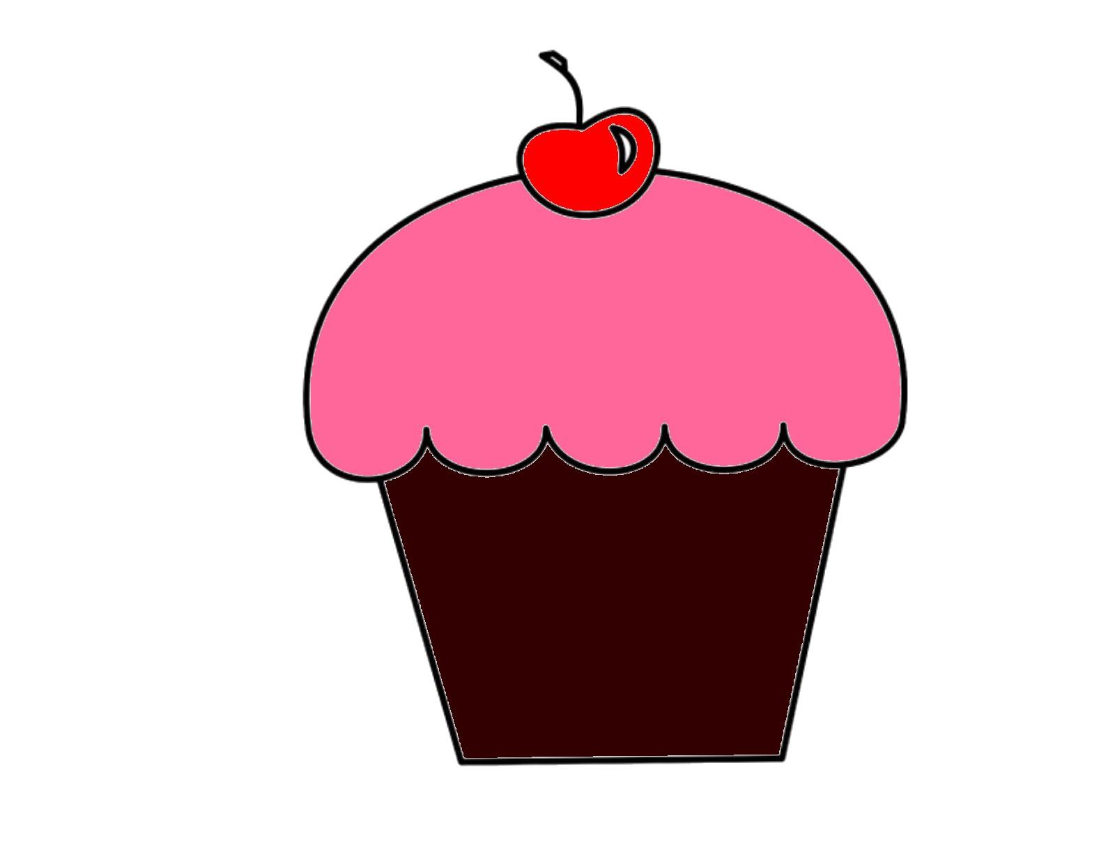 Cupcake image - vector clip art online, royalty free & public domain