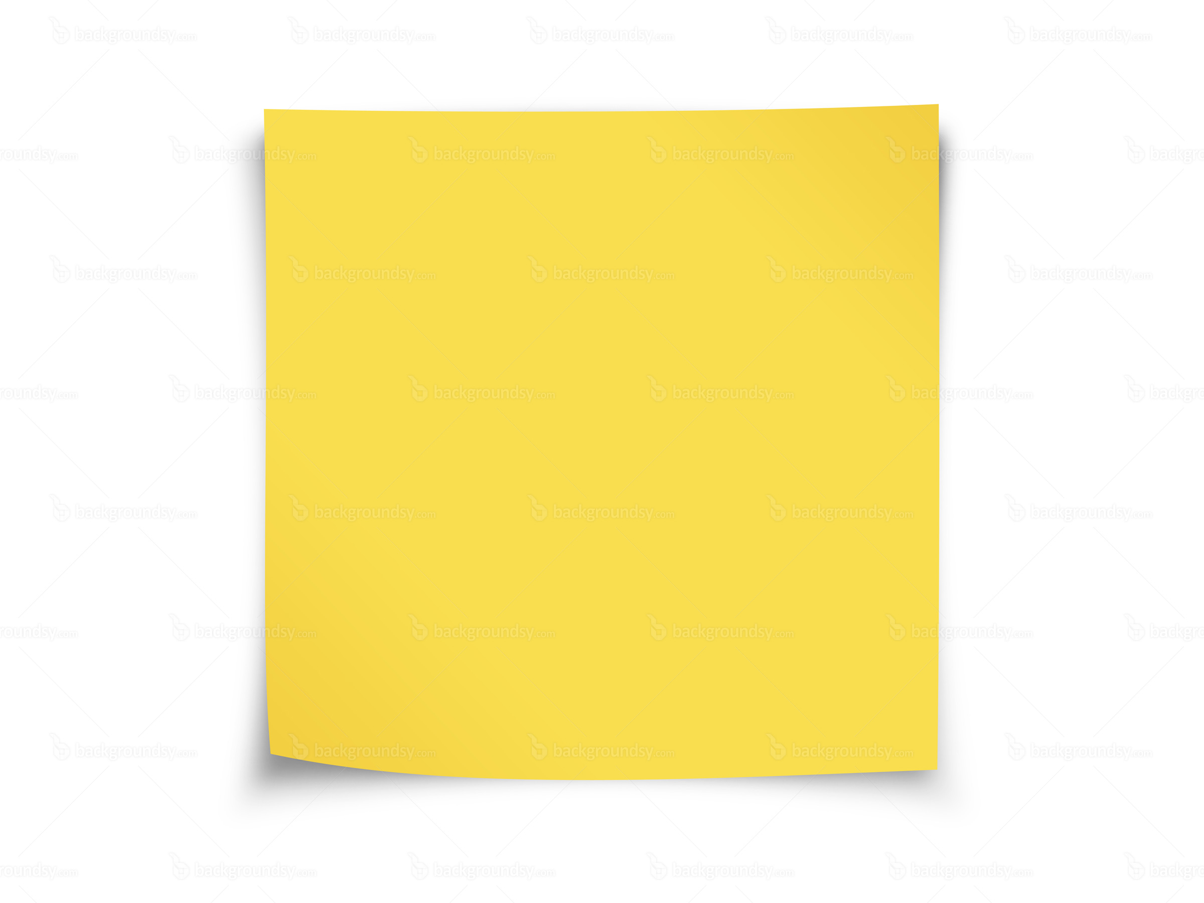 Yellow post-it note | Backgroundsy.