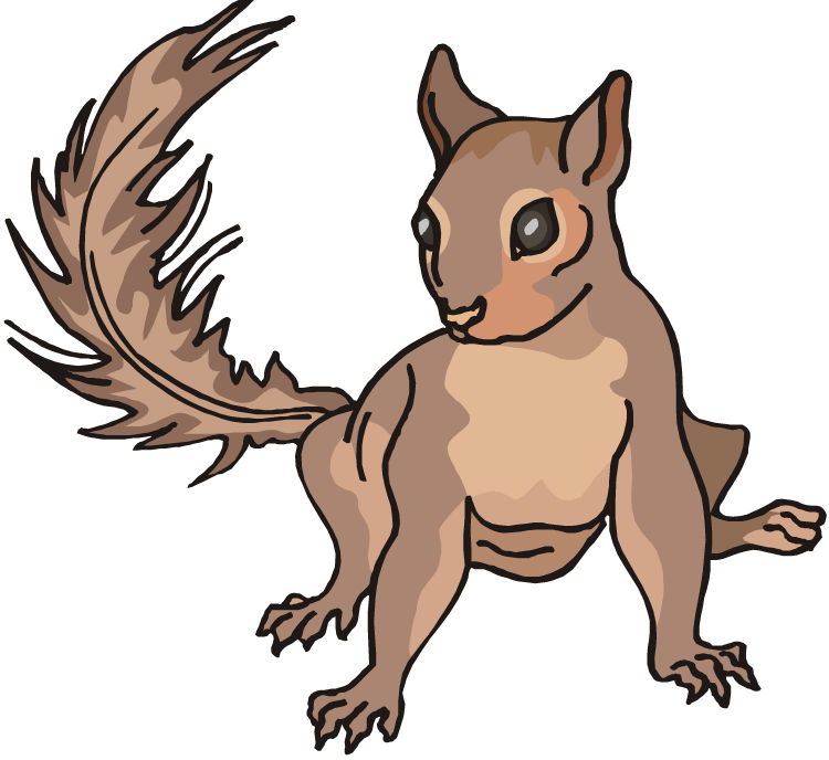 Free Clip Art Squirrel - Cliparts.co