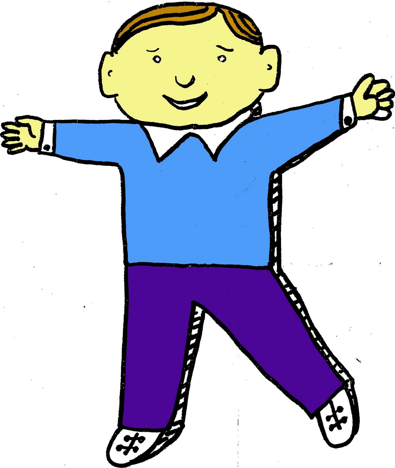 Flat Stanley Clipart Cliparts Co