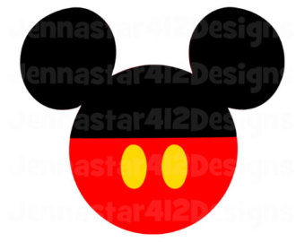 Mickey Mouse Shoes Clipart
