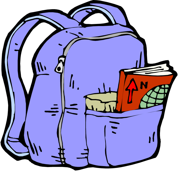 Clipart Backpack - Cliparts.co