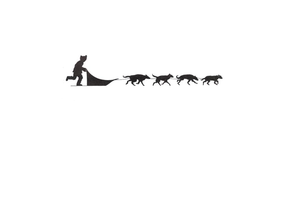 Printable Dog Sled Pictures