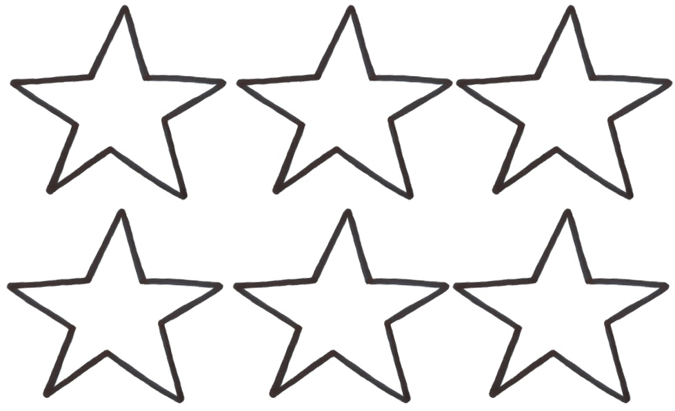 Star Template Large