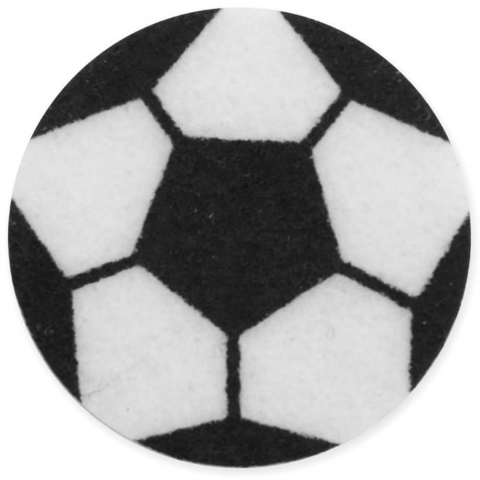 Футбольный мяч из фетра