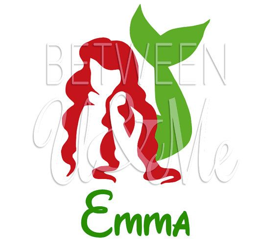 Little Mermaid Silhouette Cliparts Co