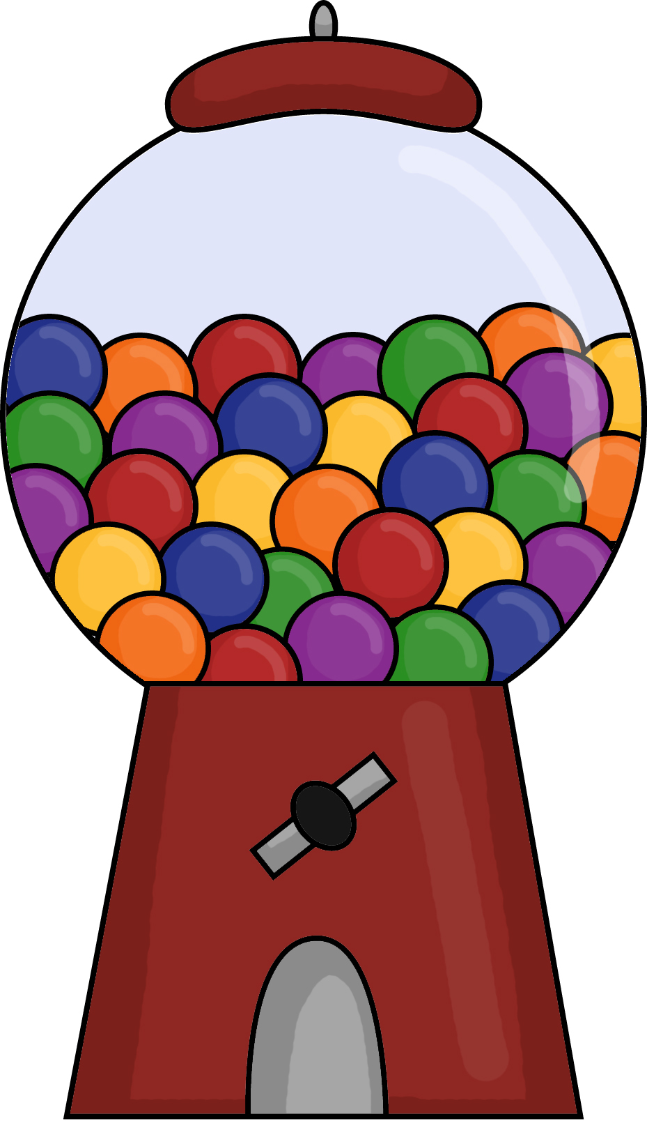 gumball machine pictures cliparts co empty bubble gum machine clip art Bubble Gum Clilpart