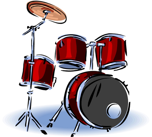 Picture Of Drum Set - Cliparts.co