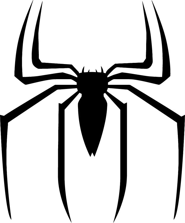Choose Size Spider Man Logo Decal Removable Wall Sticker Cool Home ...