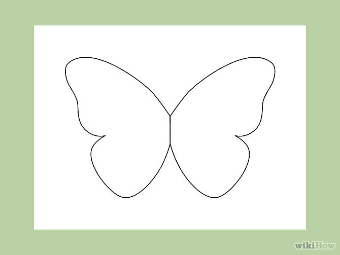 Butterfly Outline - Cliparts.co Steps