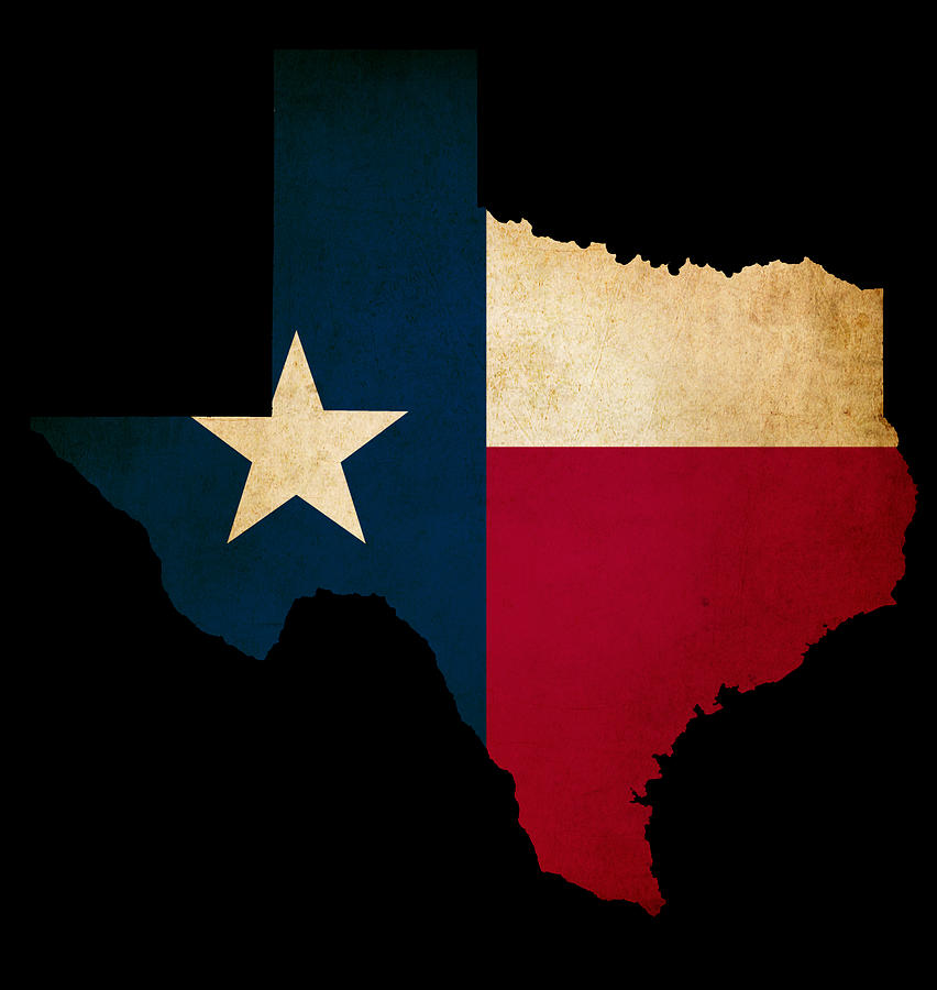 State Of Texas Outline  Cliparts