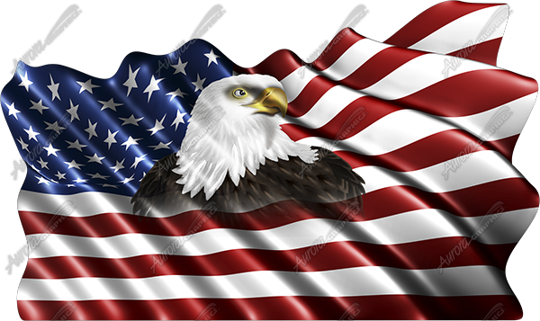 clip art american flag eagle - photo #45