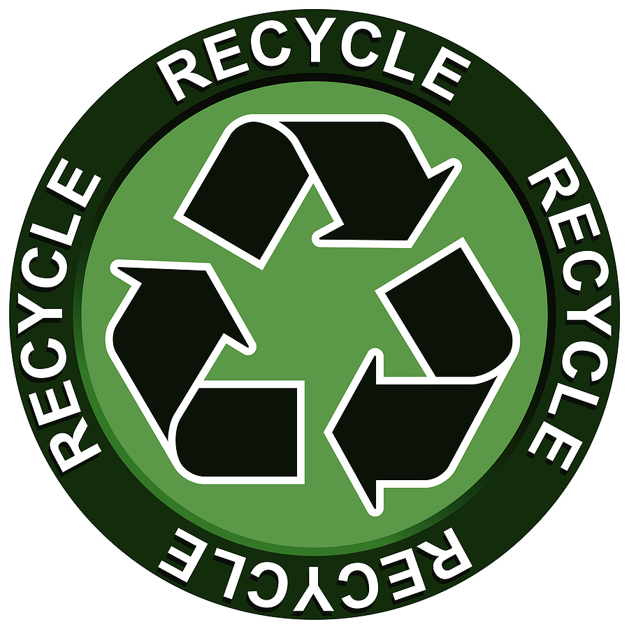 photo about Printable Recycling Signs named Recycling Indicators Printable - ClipArt Most straightforward -