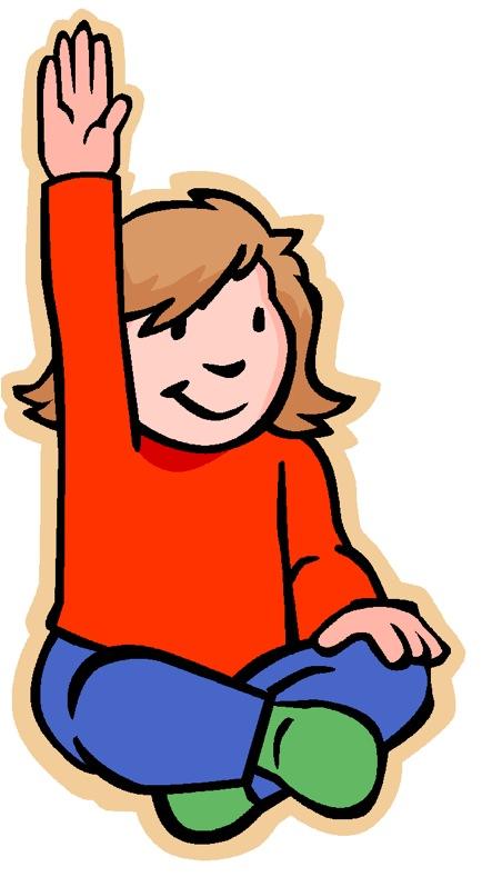Raise Your Hand Clip Art - Cliparts.co