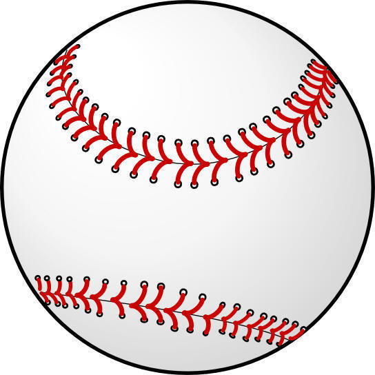 Baseball Border - Cliparts.co