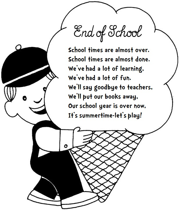 Image result for free school's out clipart