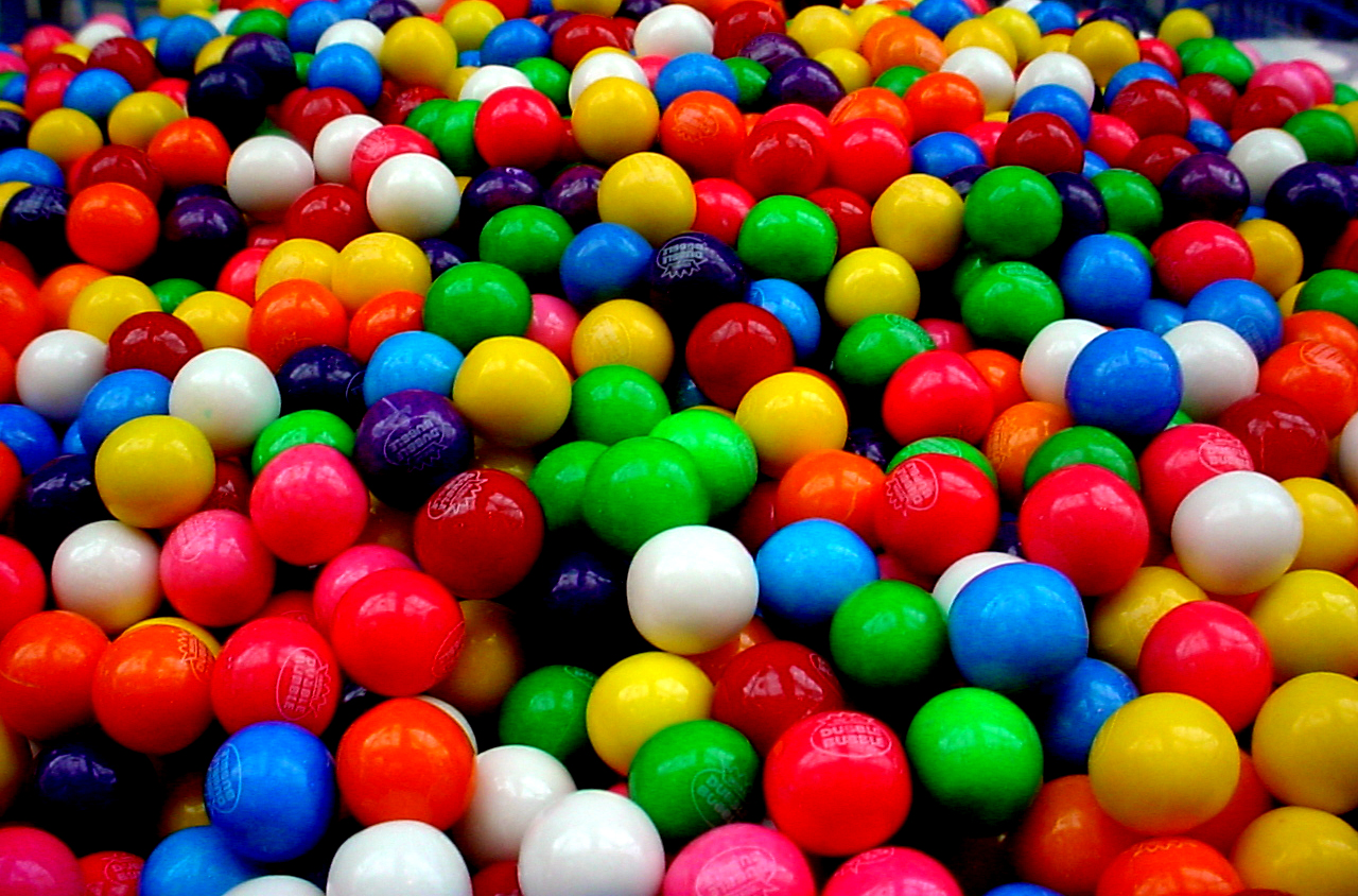 an analysis of the change of chewing gum and bubble gum over the past 150 years