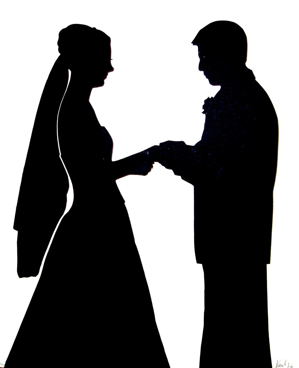 Wedding Silhouette Cliparts Co
